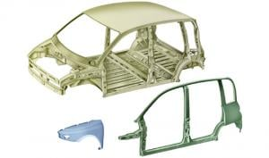BODYSHELL AND PLATES