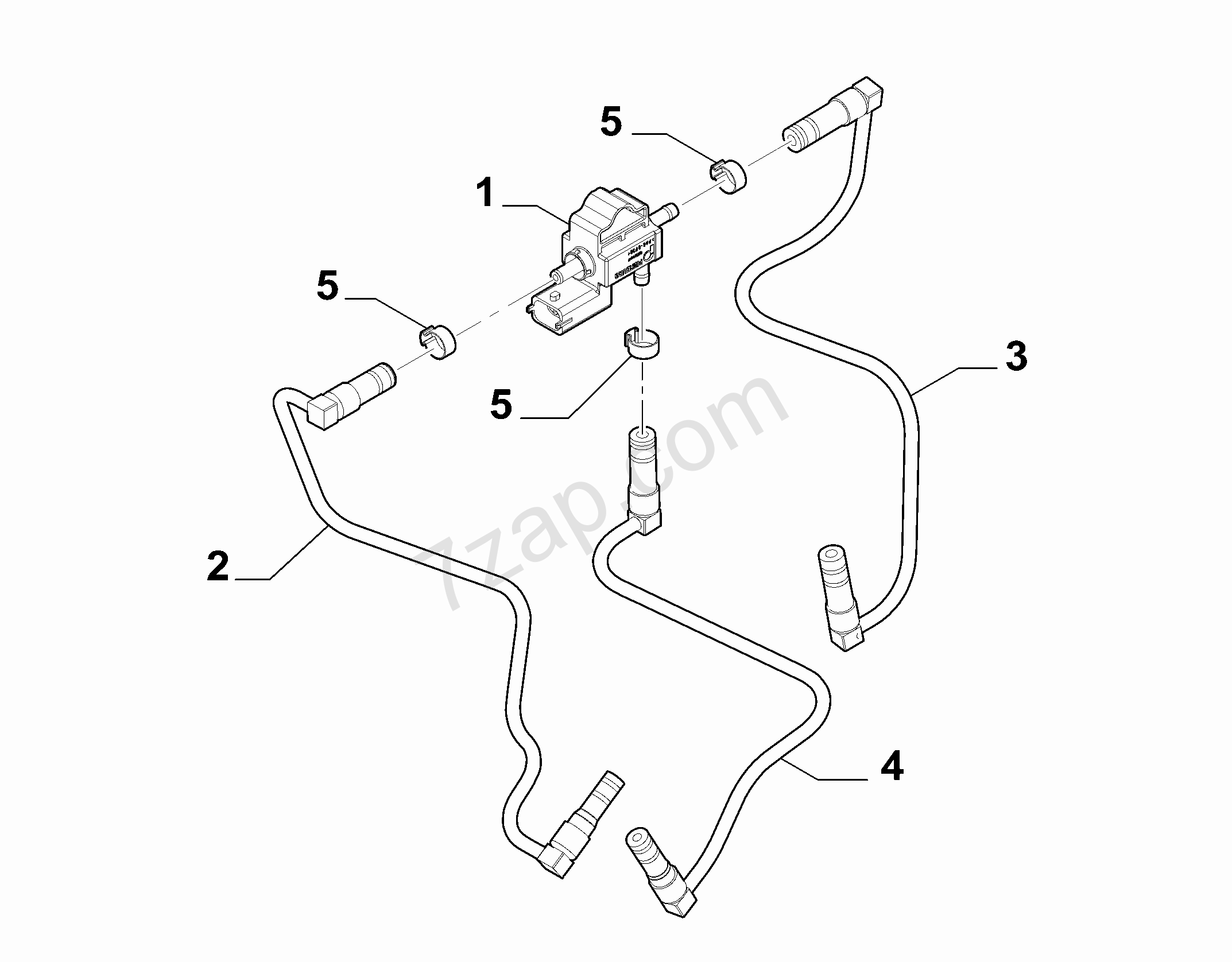 Fiat Fuel Pressure Diagram Valve Regulator 500l 2012