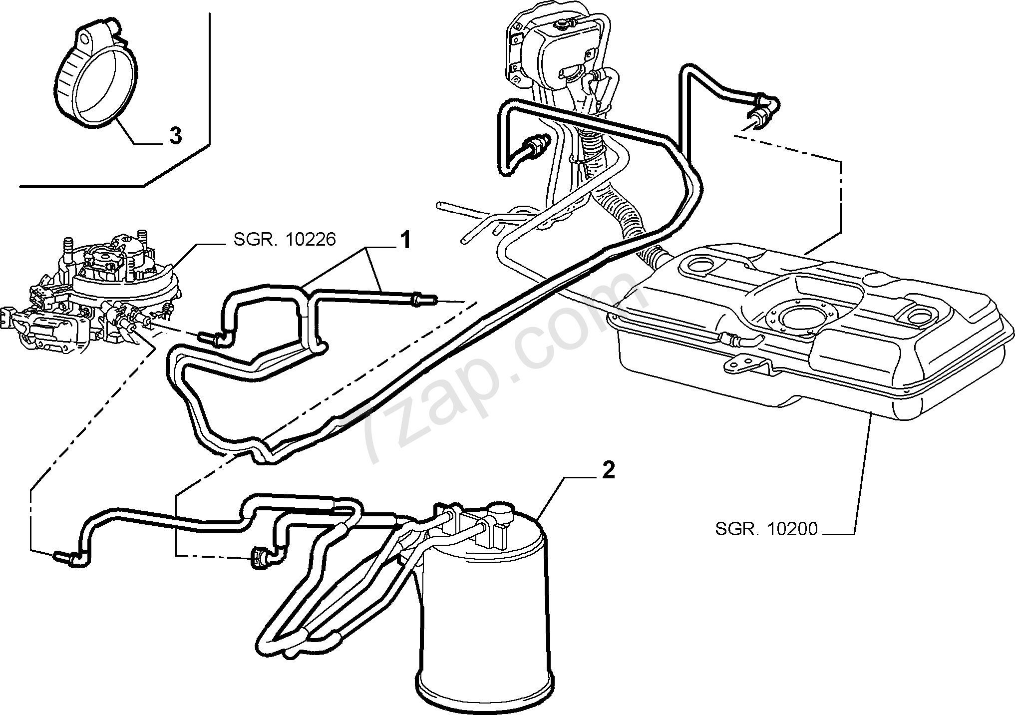fiat fuel pump diagram wiring library  fuel tank piping fiat seicento 1998 2010
